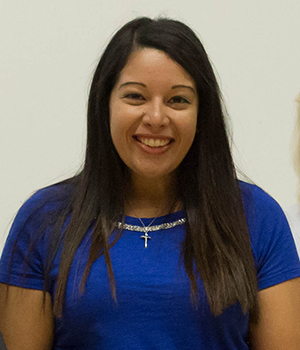 Alumna staff member Dulcemaria Anaya won the Staff Excellence Teamwork Award.