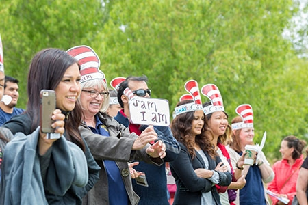 Staff Appreciation Week, UC Merced's annual salute to staff members, is May 16-20.