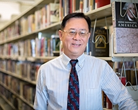 Haipeng Li joined UC Merced as the campus's new university librarian.