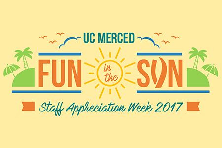 Official logo of UC Merced 2017 Staff Appreciation Week