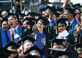 UC Merced's 12th commencement ceremonies will celebrate its largest graduating class.