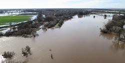 Moving river levees can improve groundwater supplies