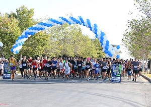 Campus and community members participated in the Journey 5K Fund Run to support scholarships.