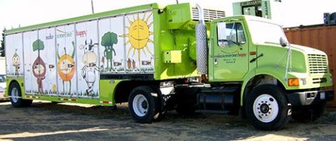 The Produce on the Go truck