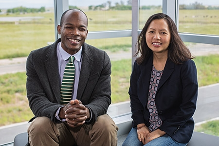 Professors Nigel Hatton and Ma Vang are part of an MRPI grant to focus on refugee studies.