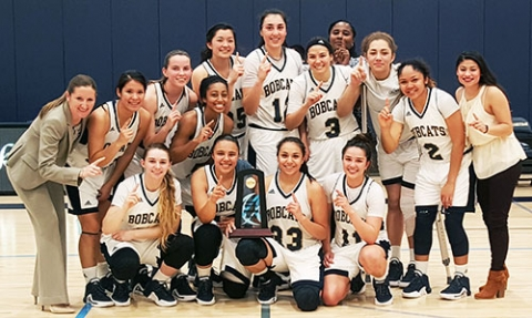 The UC Merced women's basketball team won the Cal-Pac Conference championship with a 76-56 victory against the California Maritime Academy.