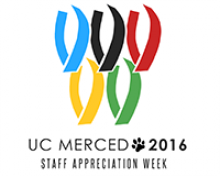Staff Appreciation Week is May 16-20. This year's theme is the Olympics.