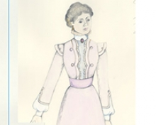 The UC Merced Library is digitizing thousands of costume design illustrations by faculty member Dunya Ramicova.