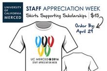 Pre-order a 2016 Staff Appreciation Week T-shirts for $15 until April 29.