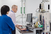 The new NMR lab offers hands-on training for undergrads.