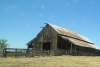 Image of the barn, located east of UC Merced.
