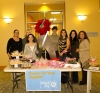 Staff members at The Promenade held a bake sale to support this year's United Way campaign.