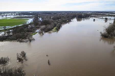 UC Merced Professor Josh Viers and colleagues have found an engineering solution to improve some of the state's groundwater supplies and fisheries by moving river levees to make room for flood waters.