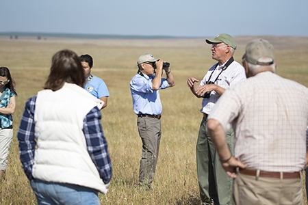 More than 80 people turned out for UC Natural Reserve System Day at UC Merced.