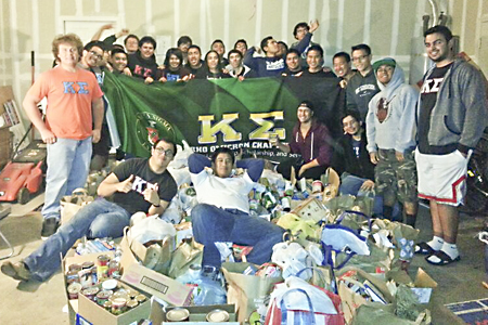 Campus Community Gives Back During Holiday Season