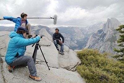 """Mohammad Safeeq is among the UC Water researchers featured in UCTV's """"Water in the Balance."""""""