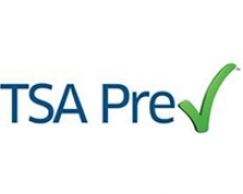 Image of the Transportation Security Administration's logo for its PreCheck program.