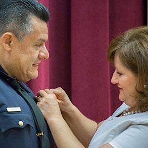 Vasquez was sworn in on Aug. 17.
