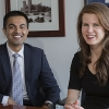 Ehsan Choudhry and Kristen Wanderlich, UC Merced's new faculty liaisons